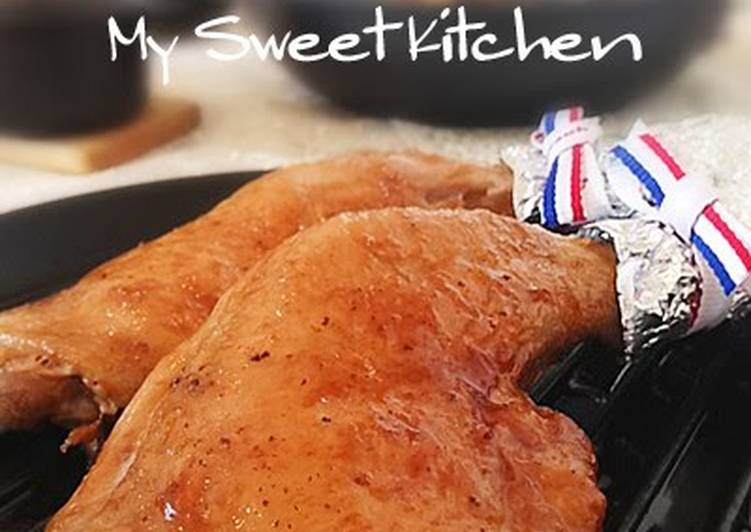 Easy Pan-Roasted Chicken in a Frying Pan