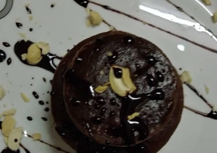 Nutella mini cake