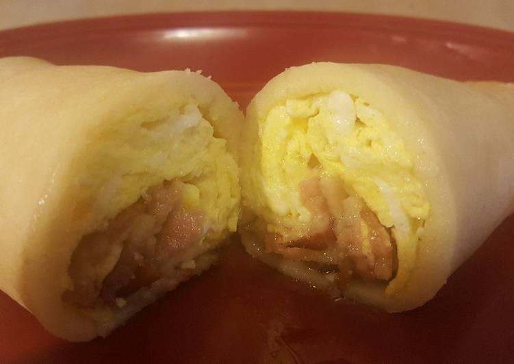 Easiest Way to Make Any-night-of-the-week Mantastic Pancake Breakfast Burrito