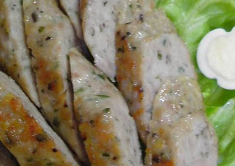 Japanese-seasoned Chicken Sausage
