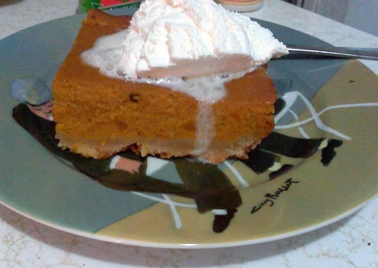 pumpkin pie filling from scratch
