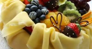 Elegant Mille Crepe for Valentines Day