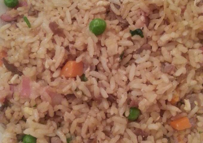 Quick and simple fried rice!