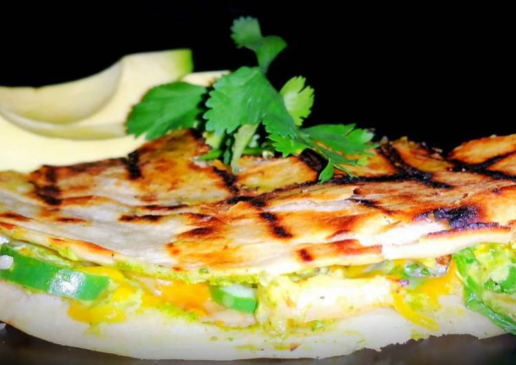 Mike's Grilled Shrimp Quesadillas Or Tacos