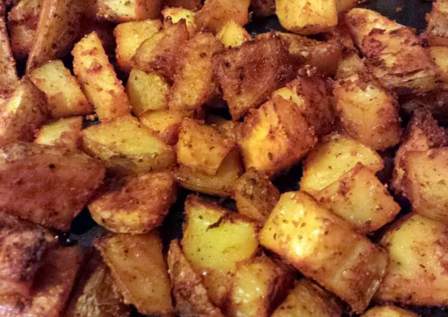 Elisa's Baked Seasoned Potatoes