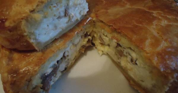 Закусочный пирог - пошаговый рецепт с фото. Автор рецепта ...