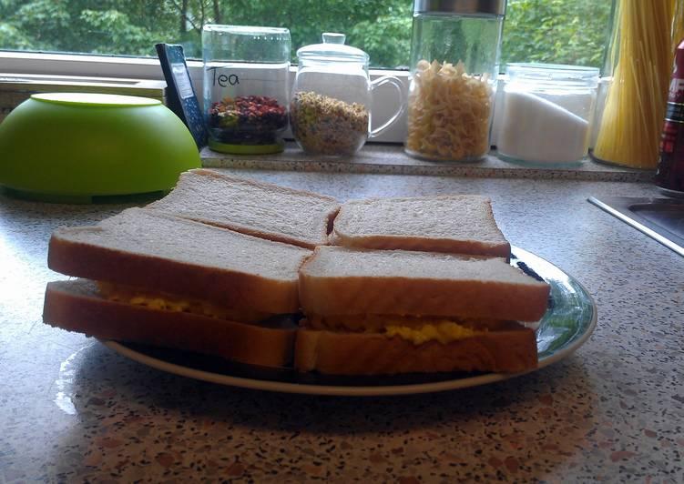 Simple Egg Salad Sandwitch