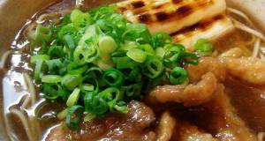 Kamo-nanban Soba Noodles with Leeks