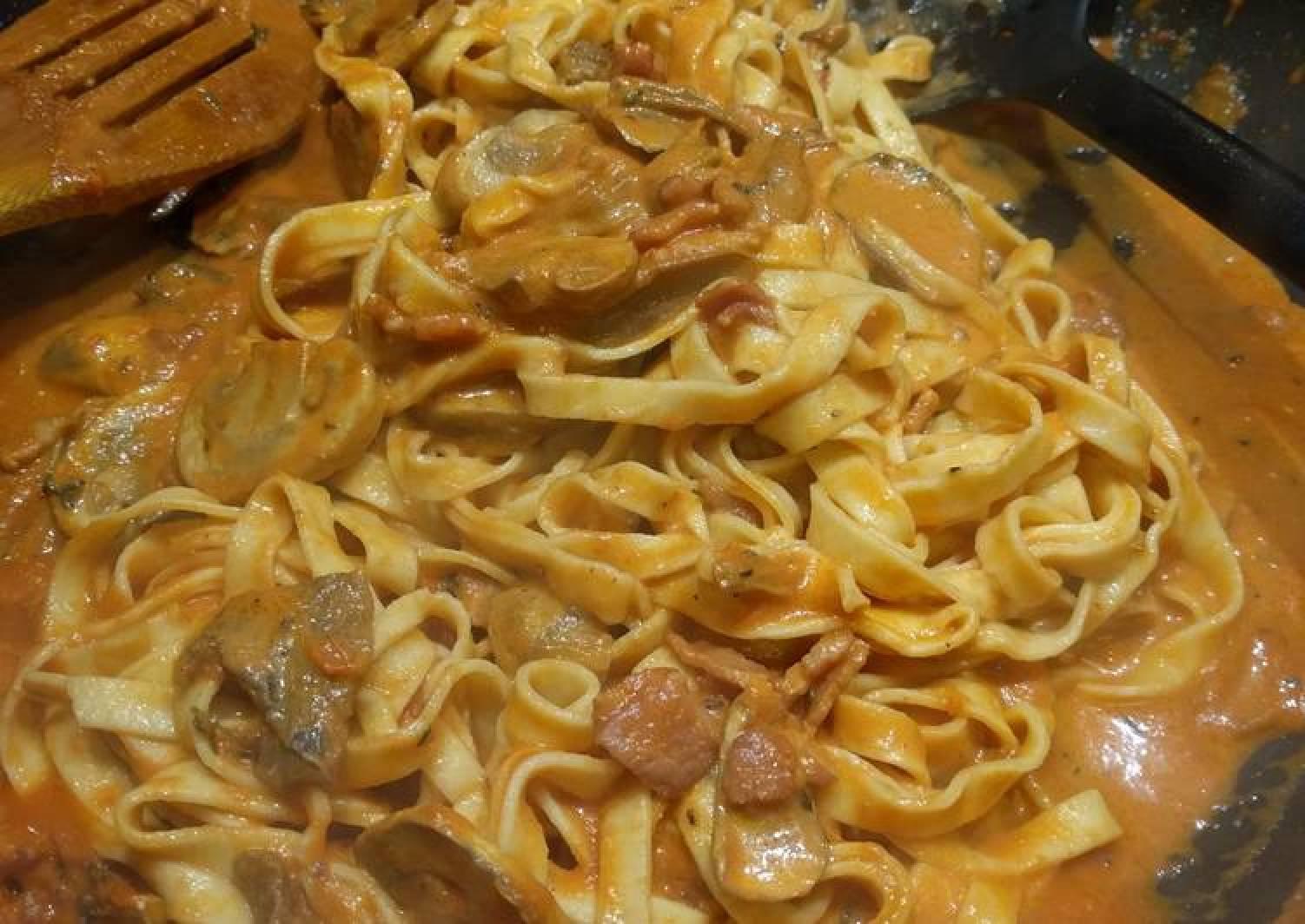Porcini Mushroom Tagliatelle