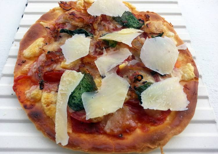 Basic Pizza Dough Non Yeast