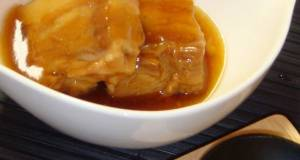 SimpleMinute Stewed Pork Belly Using a Pressure Cooker