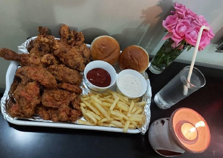 Chicken al baik from saudi Arabia