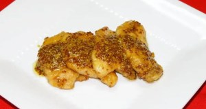 Sauted Chicken Breast with Grainy Mustard Sauce