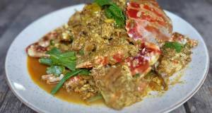 Stir fried Crabs with curry powder