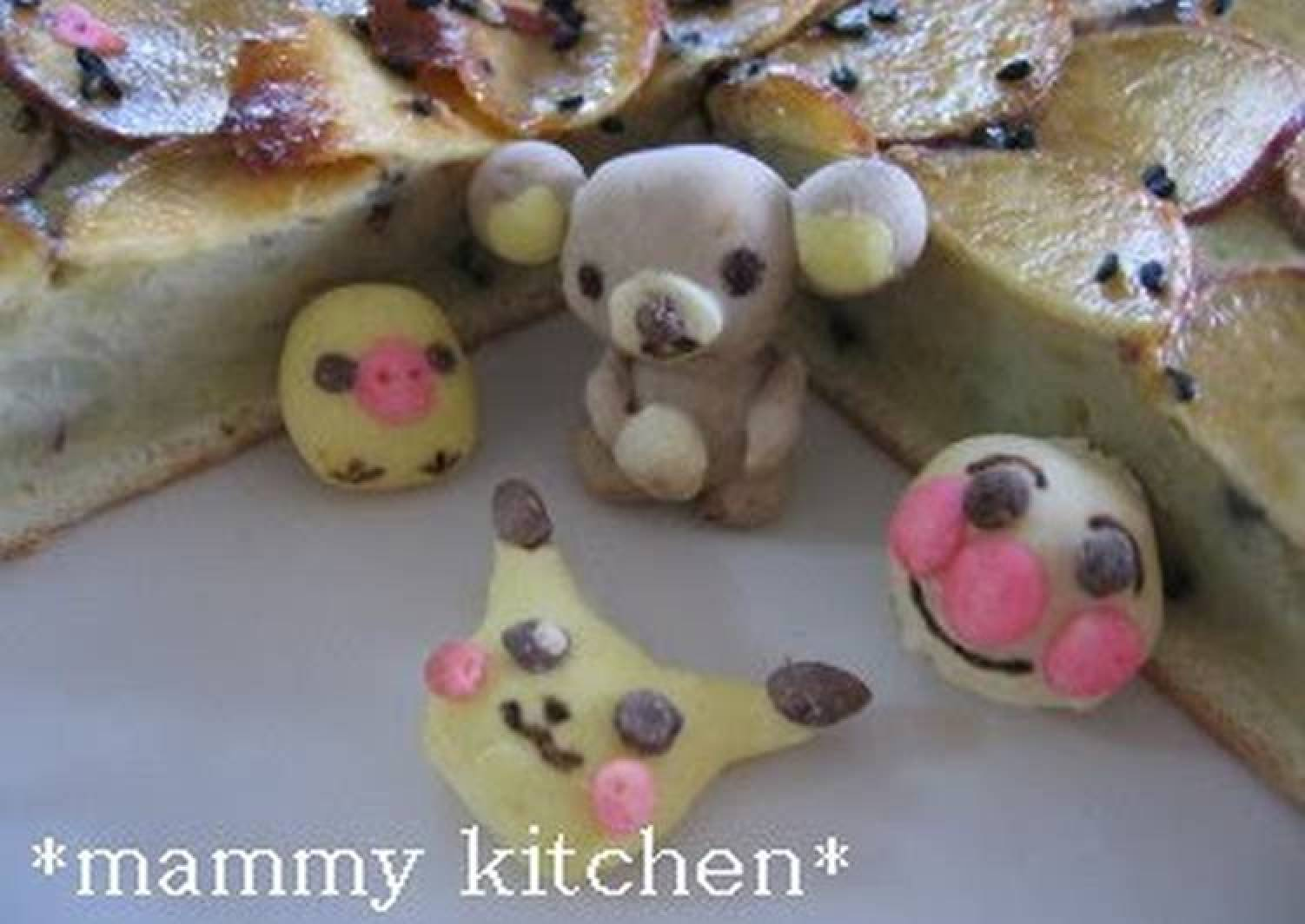 Easy Marzipan Figures with Pancake Mix