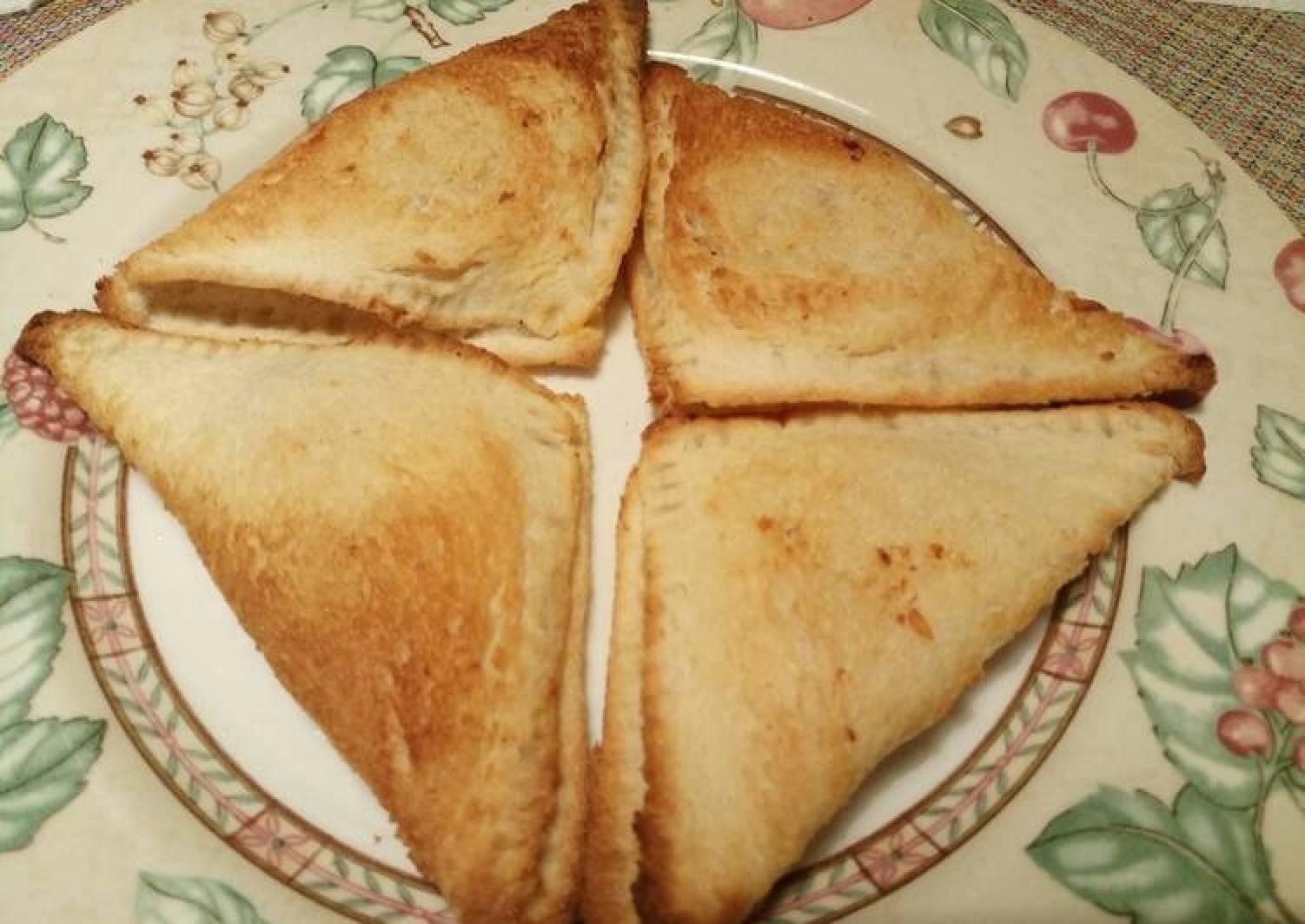 Baked feta toasties