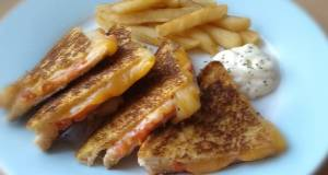 Vickys Pan-Fried Toasties with loads of Filling Ideas