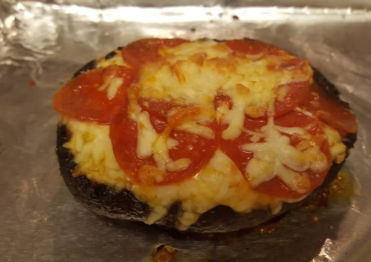 Portobello Cap Pizza - No-carb / Vegetarian
