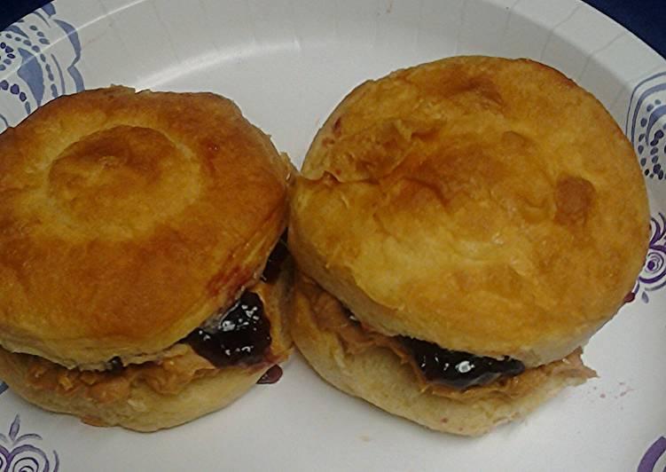 P&J  biscuits