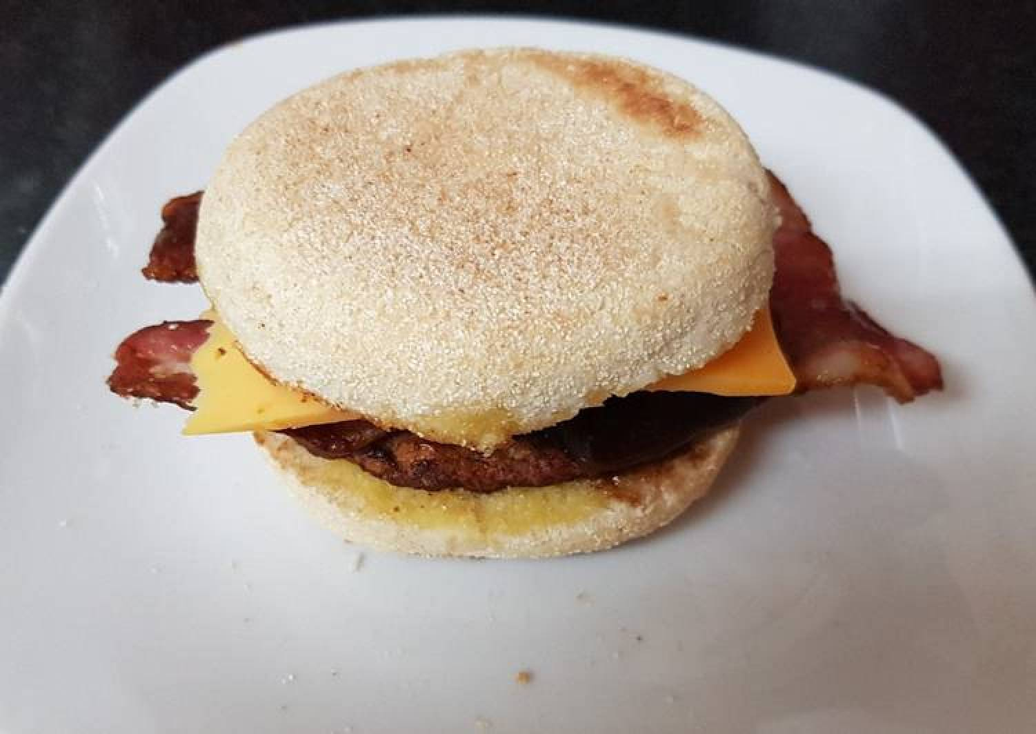 My Bacon and Blackpudding Muffin. ❤