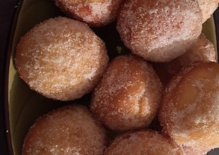 Beignets express au fromage blanc
