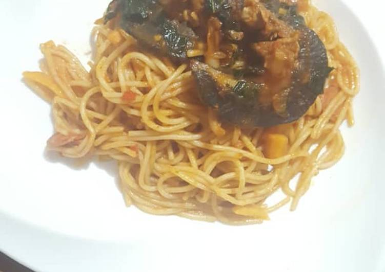 Spagetti with snails