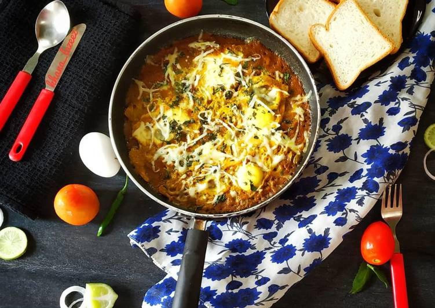 SHAKSHUKA - a Middle Eastern dish
