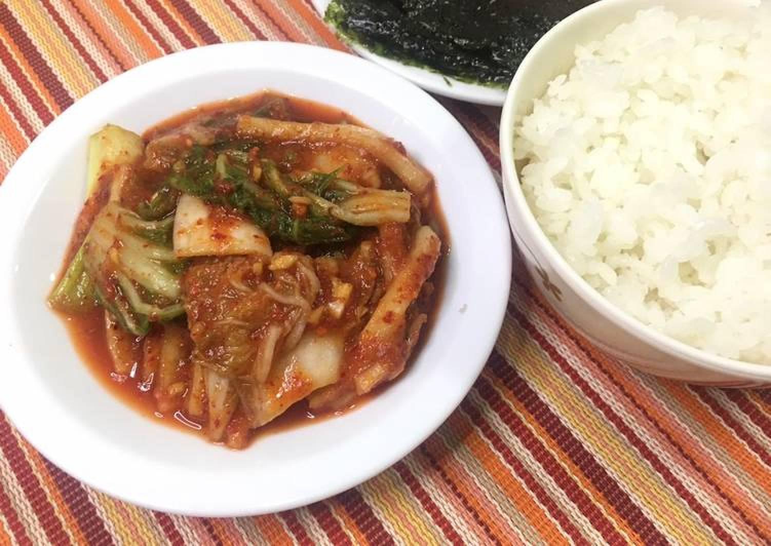 Homemade Kimchi