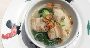 Vermicelli In Pork Belly Soup