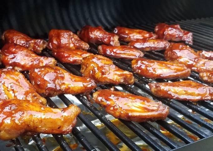 Simple Way to Prepare Favorite Smoked Chicken Wings