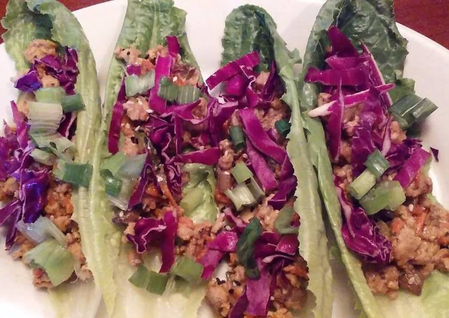 Thai Style Lettuce Wraps