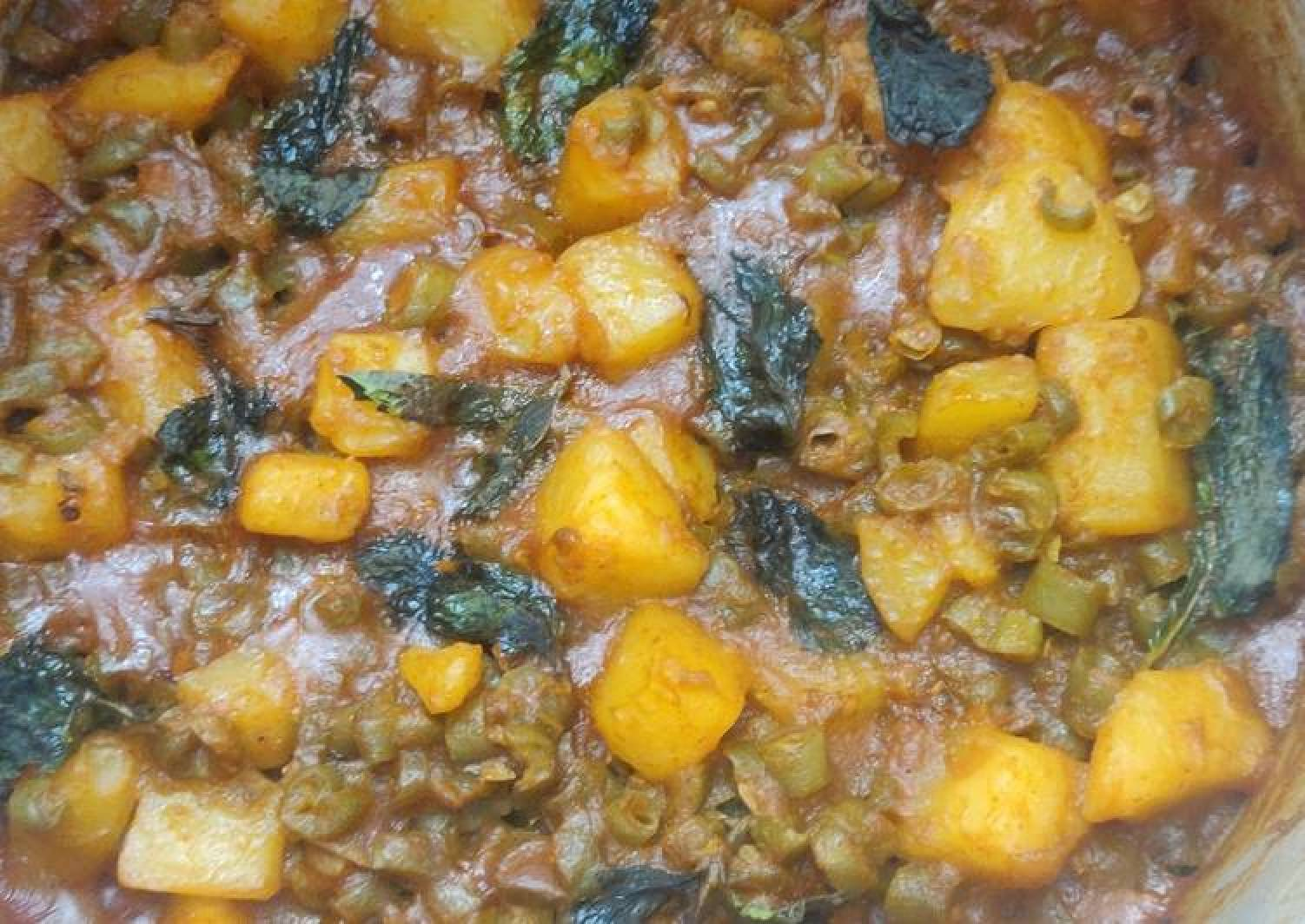 Beans Potato Curry