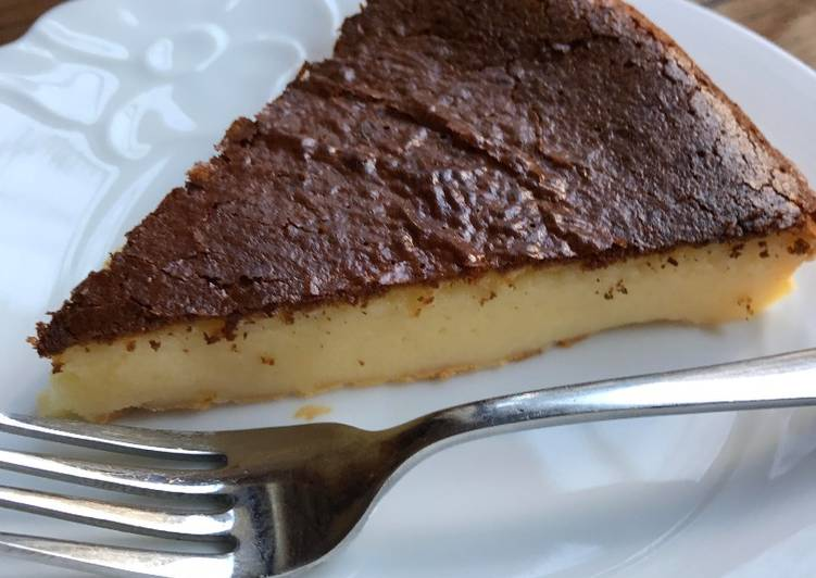 Easy and tasty lemon cheese cake