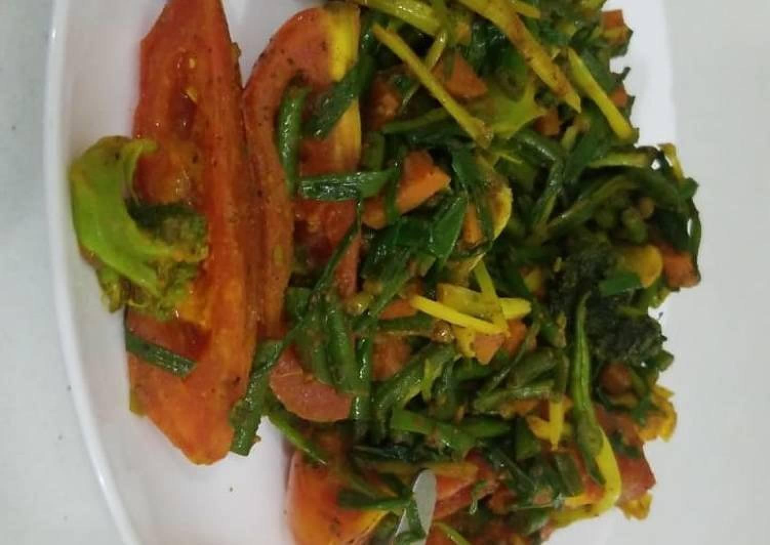 Crunchy Veggie 💗💗main plate