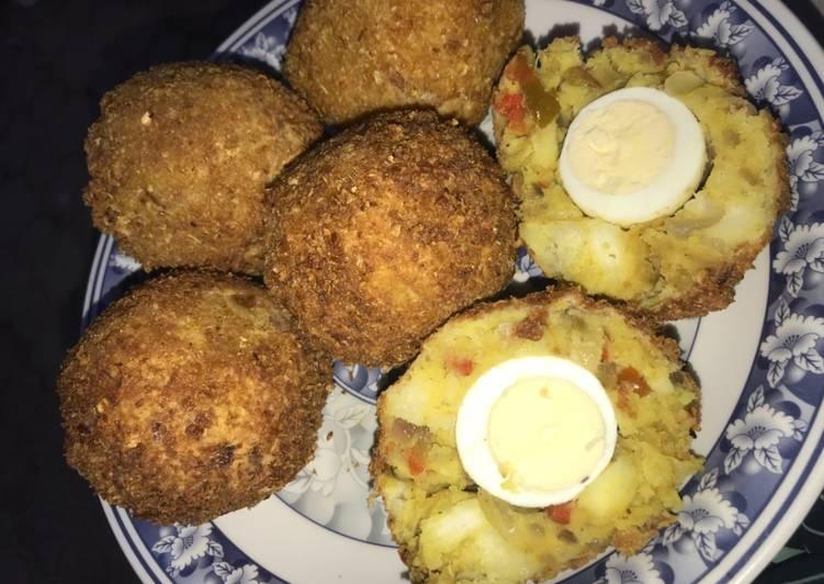 Yam egg rolls