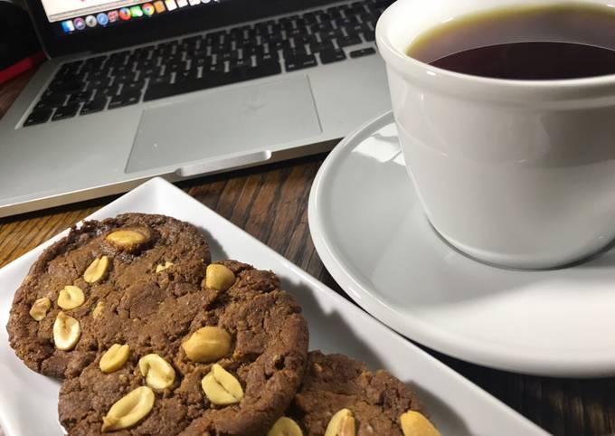 Nemmeste Måde at forberede Hurtig Peanutbutter Cookies glutenfri og veganske - Rimmers Køkken På