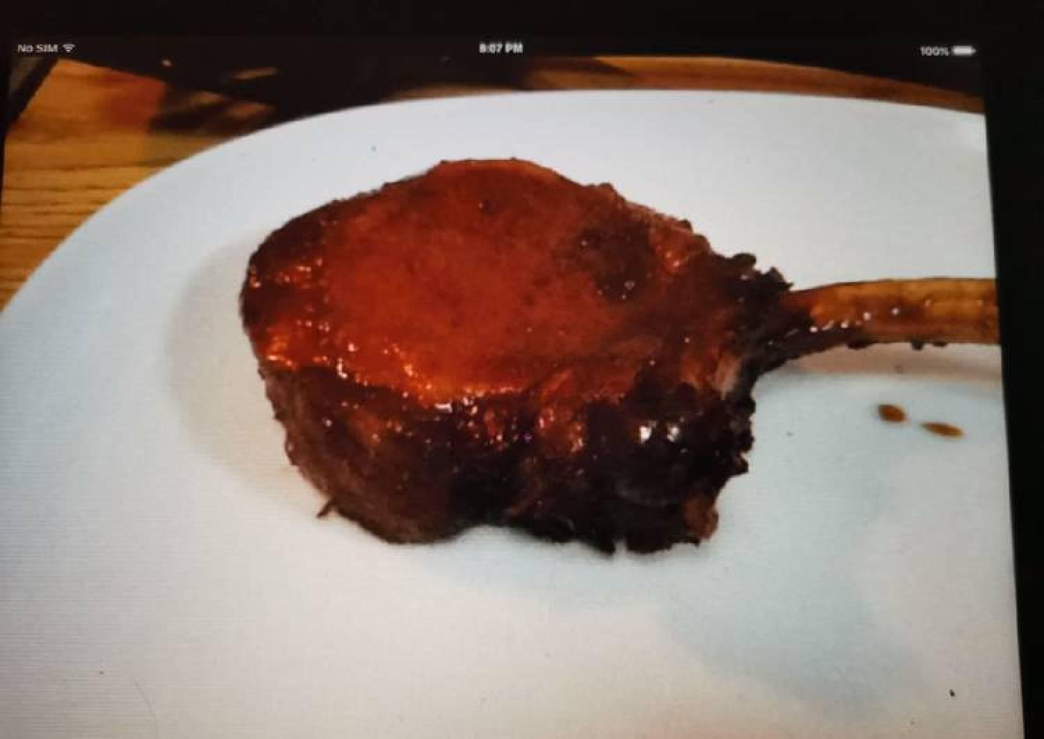 Amber Pork Chops