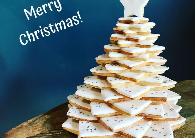3D Shortbread Christmas Tree