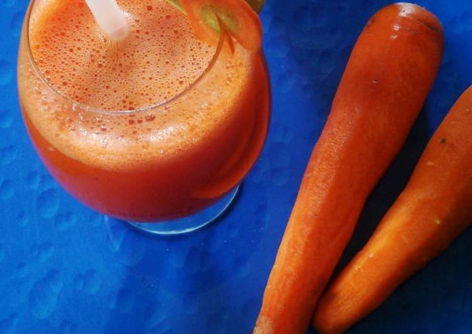 Carrot and lime juice