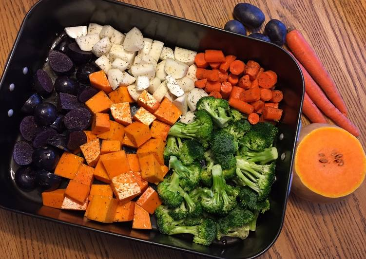 Simple Way to Make Any night of the week Roasted Winter Vegetables