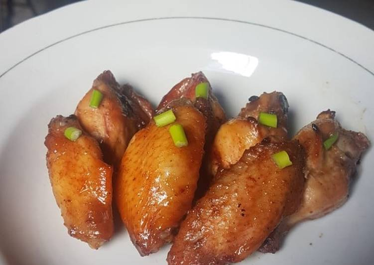 Chicken Wings Saus Mentega
