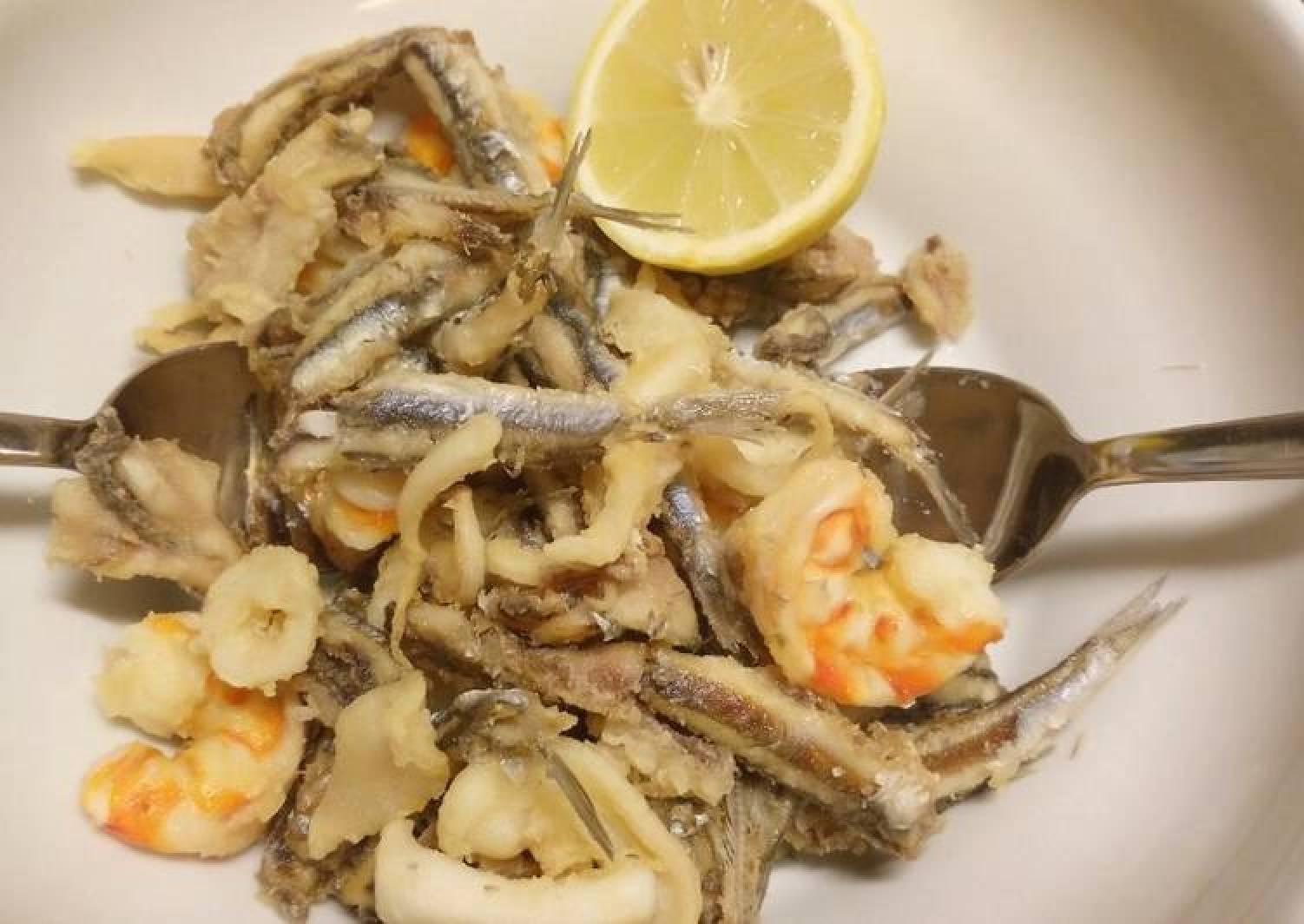 Fritto misto mixed fried fish