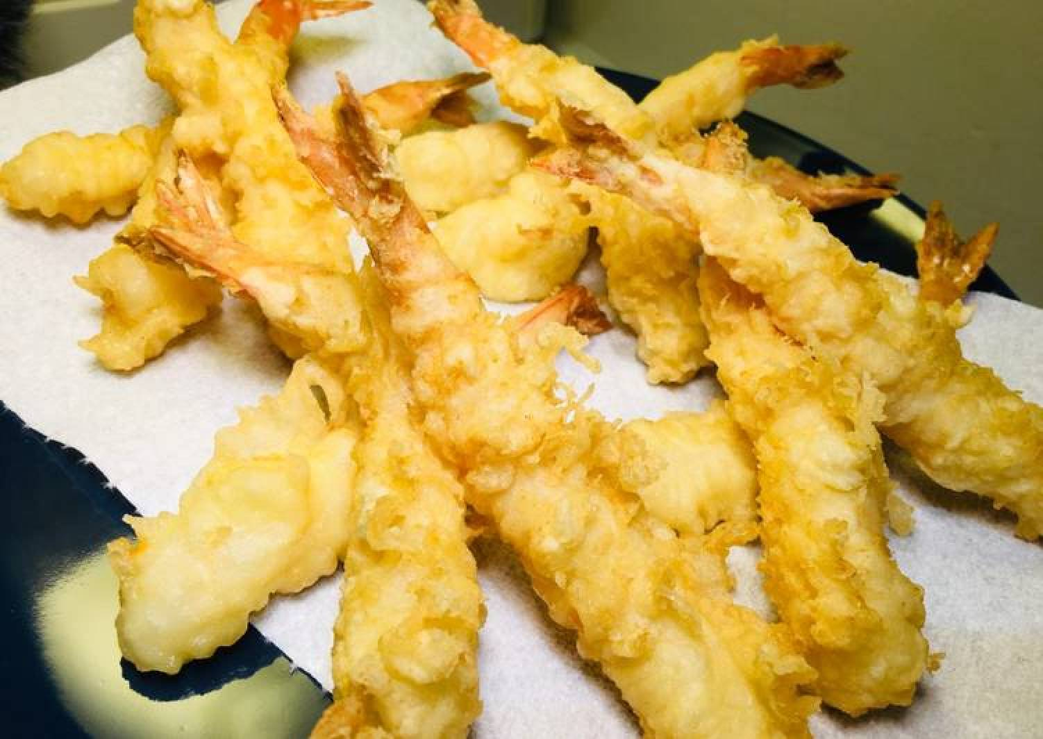 How to cook crispy prawn tempura