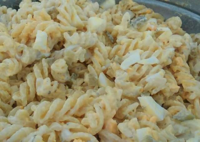 Simple egg & macaroni salad