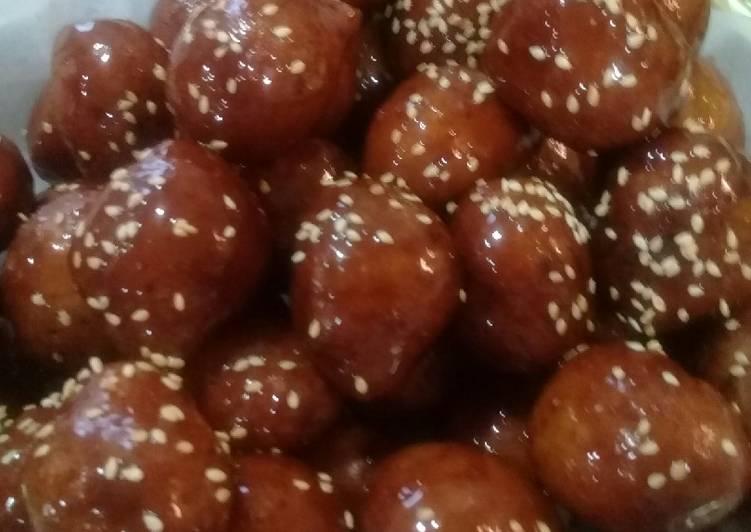 Gulab jamun/ Gimat
