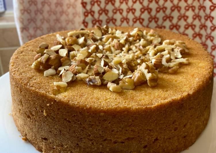 Orange & Nuts Cake