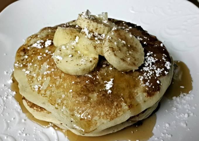 Healthy Banana Pancakes
