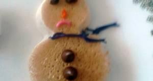 Snowman Pancakes  christmas