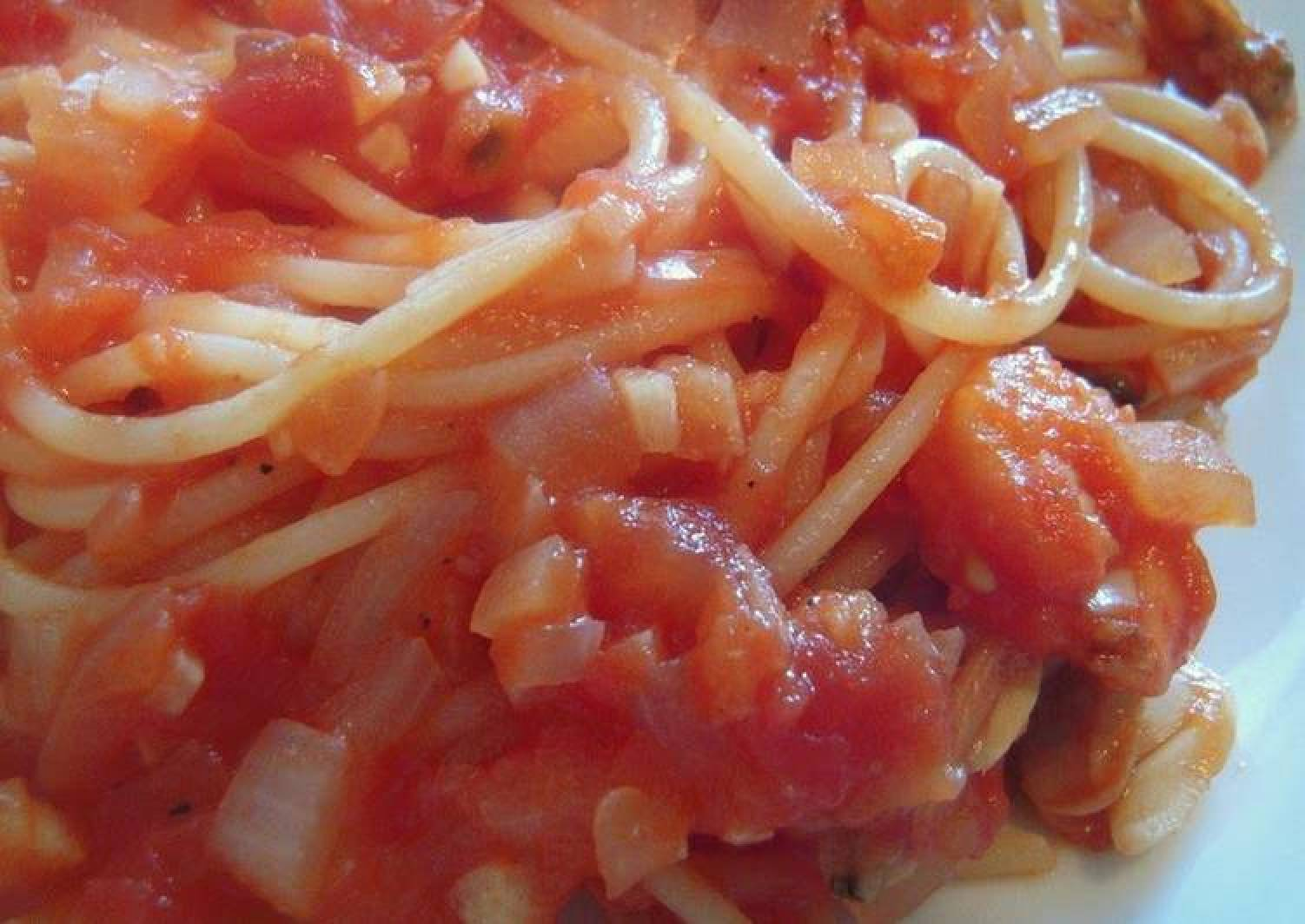 Spaghetti del Pescatore with Frozen Seafood Mix