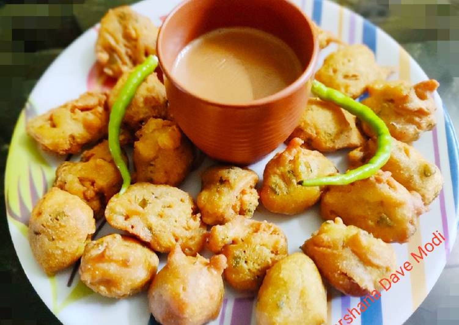 Methi Pakoda Fenugreek fritters